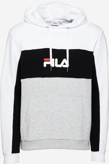 Felpa 'ANALU' FILA di colore grigio chiaro / rosso chiaro / nero / bianco, Visualizzazione prodotti