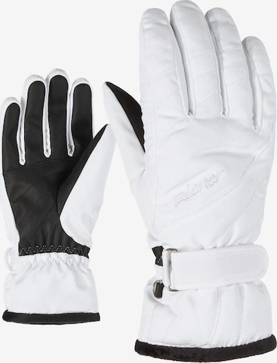 ZIENER Skihandschuhe 'KILENI PR' in weiß, Produktansicht