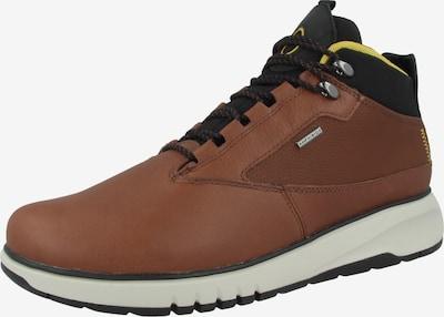 GEOX Schuh in braun / schwarz, Produktansicht