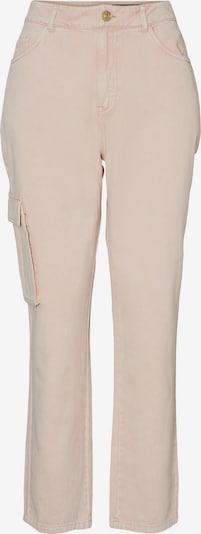 Noisy may Jeans cargo 'Mabel' en rosé, Vue avec produit