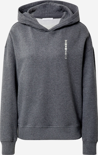 BOSS Sweatshirt 'Eriva 1' in dark grey / white, Item view