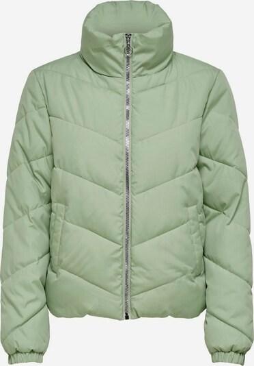 JACQUELINE de YONG Winterjas in de kleur Lichtgroen: Vooraanzicht