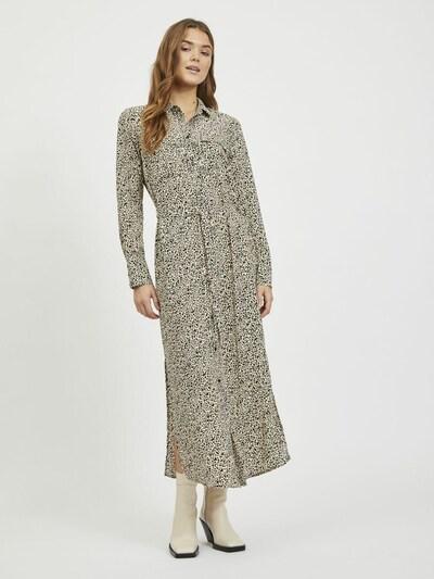 VILA Kleid in schwarz / weiß, Modelansicht