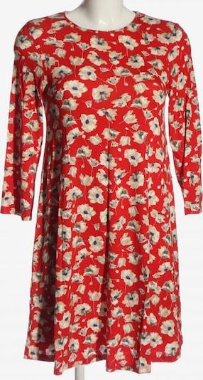 F&F Clothing & Fashion Langarmkleid in S in rot / wollweiß, Produktansicht