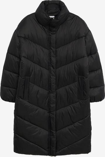 MANGO Zimski plašč 'Kellogs' | črna barva, Prikaz izdelka