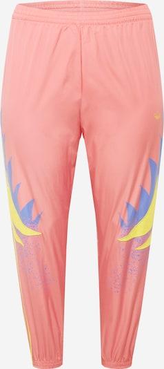 ADIDAS ORIGINALS Pantalon en bleu / jaune / rose, Vue avec produit