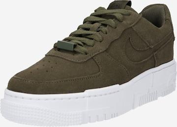 Nike Sportswear Σνίκερ χαμηλό 'Pixel' σε πράσινο