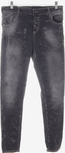 Maryley Röhrenhose in XXL in grau / dunkelgrau, Produktansicht