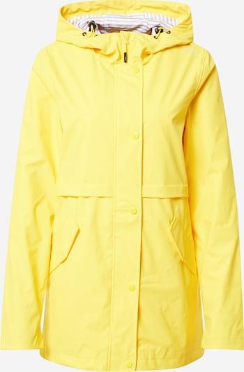 CMP Regenmantel 'FIX Hood' in gelb, Produktansicht