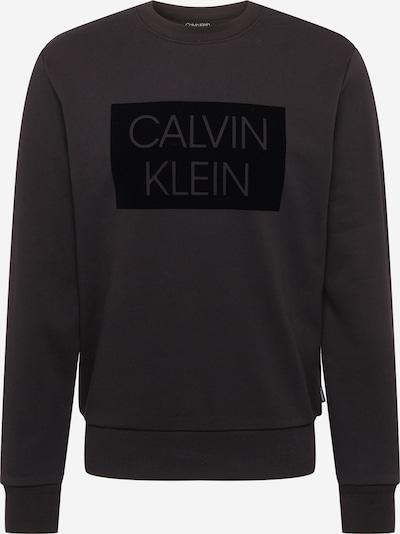 Calvin Klein Sweatshirt in anthrazit / schwarz, Produktansicht