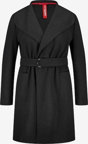 SAMOON Between-Seasons Coat in Black