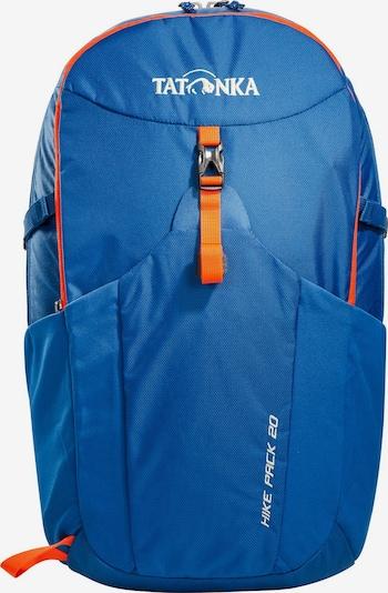TATONKA Rugzak 'Hike' in de kleur Blauw / Sinaasappel, Productweergave