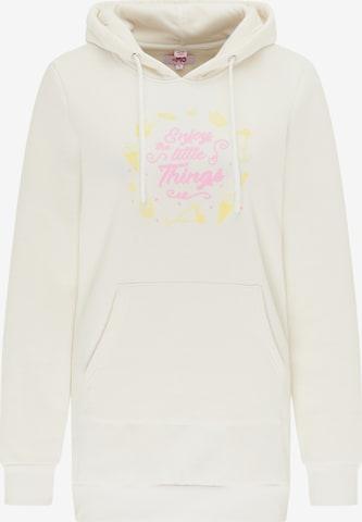 MYMO Sweatshirt in White
