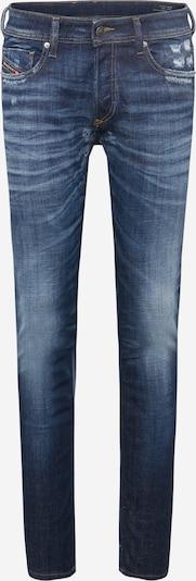 DIESEL Jean 'SLEENKER-X' en bleu, Vue avec produit
