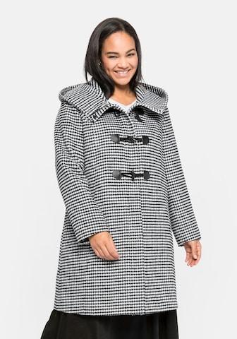 juoda SHEEGO Demisezoninis paltas
