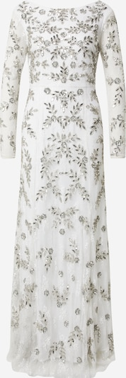 Maya Deluxe Evening dress in Silver / White, Item view