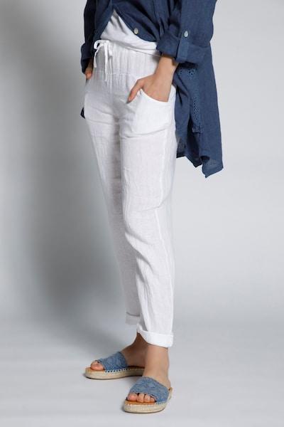 Gina Laura Hose in weiß, Modelansicht