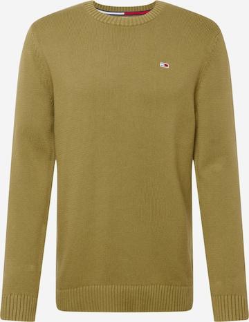 Tommy Jeans Sweter w kolorze zielony