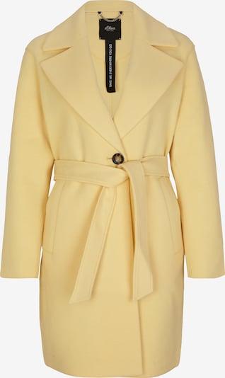 s.Oliver BLACK LABEL Manteau d'hiver en jaune clair, Vue avec produit