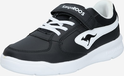 Sportbačiai iš KangaROOS , spalva - juoda / balta, Prekių apžvalga