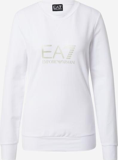 EA7 Emporio Armani Sweatshirt in Silver / White, Item view