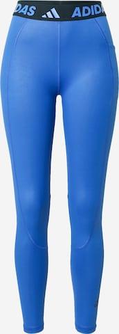 ADIDAS PERFORMANCE Sportsbukser i blå