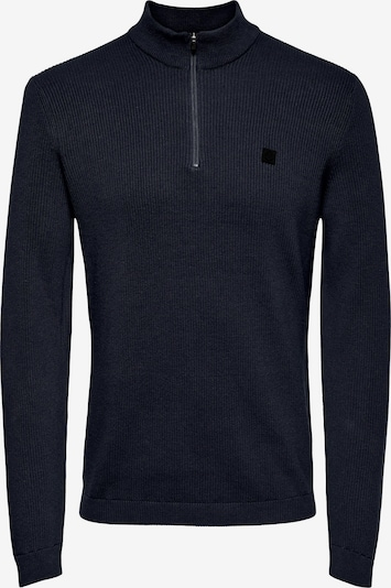 Only & Sons Sweater in Navy, Item view