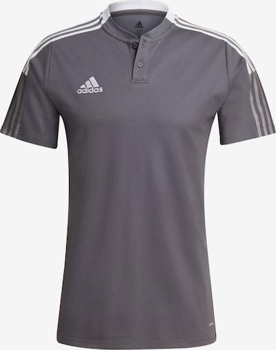 ADIDAS PERFORMANCE Poloshirt in grau, Produktansicht