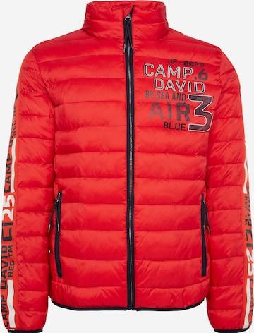 CAMP DAVID Vinterjakke i rød