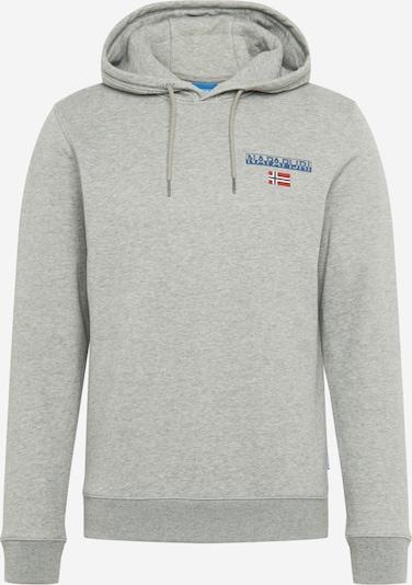 NAPAPIJRI Sweatshirt 'B-ICE H' in graumeliert, Produktansicht