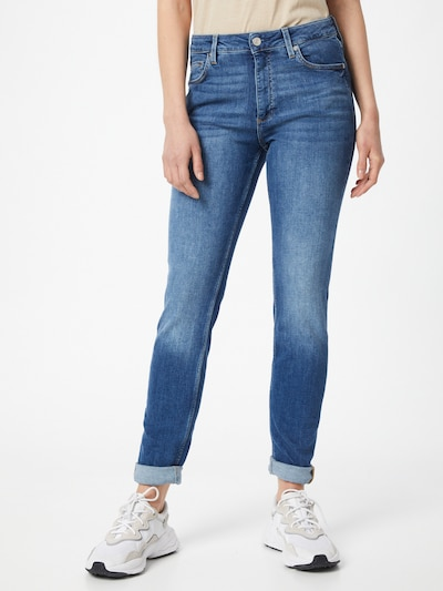 Q/S designed by Jeans in blue denim, Modelansicht