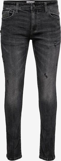 Only & Sons Jeans 'Loom' in black denim, Produktansicht