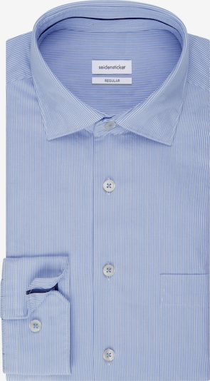 SEIDENSTICKER Casual Hemd ' Schwarze Rose ' in hellblau, Produktansicht
