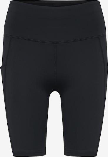 Hummel Shorts in schwarz / weiß, Produktansicht