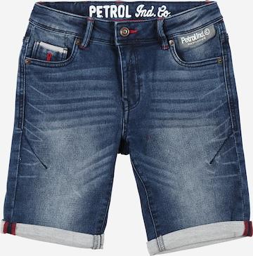 Jean Petrol Industries en bleu