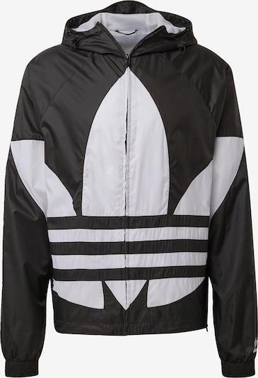 ADIDAS ORIGINALS Windbreaker 'Big Trefoil' in schwarz / weiß, Produktansicht