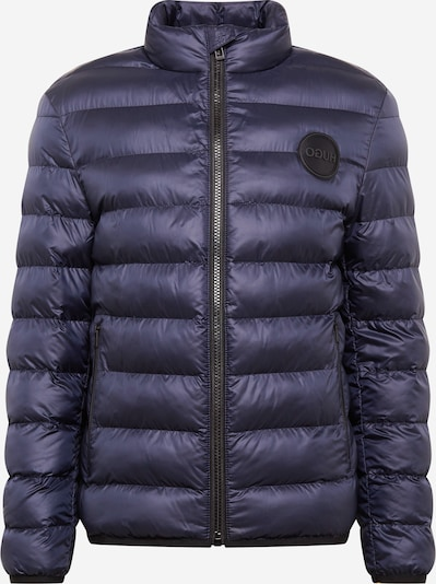 HUGO Prechodná bunda 'Balto' - indigo / tmavomodrá / čierna, Produkt