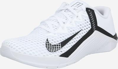 NIKE Sport-Schuhe 'Metcon 6' in schwarz / weiß, Produktansicht