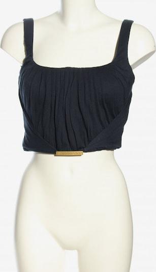 Gianni Versace Cropped Top in M in schwarz, Produktansicht