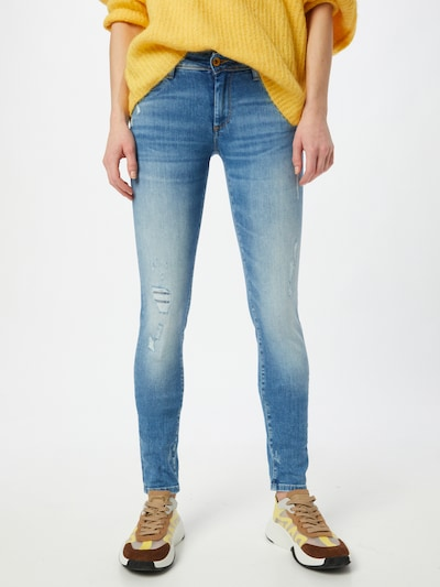 Salsa Jeans in de kleur Lichtblauw, Modelweergave