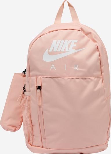 Nike Sportswear Rucksack 'Elemental' in pfirsich / weiß, Produktansicht
