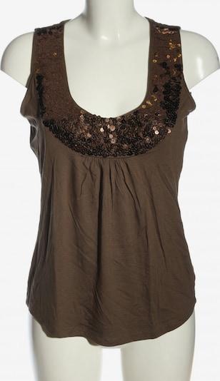 Patrizia Dini by heine ärmellose Bluse in M in braun, Produktansicht
