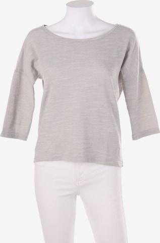 ONLY Sweatshirt & Zip-Up Hoodie in S in Grey