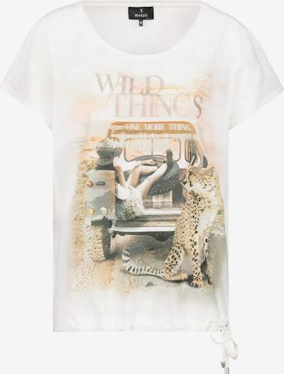 monari Shirt 'Schluse' in grau / orange / naturweiß, Produktansicht