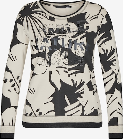 Lecomte Shirt in creme / schwarz, Produktansicht
