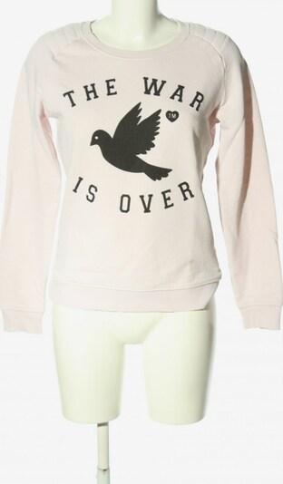 ZOE KARSSEN Sweatshirt & Zip-Up Hoodie in M in Black / White, Item view