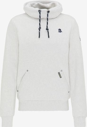 Schmuddelwedda Sweat-shirt en blanc, Vue avec produit