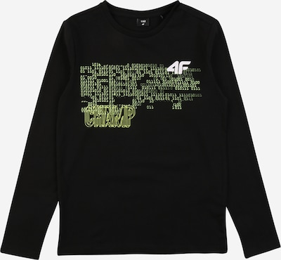 4F Functional shirt in Yellow / Green / Black / White, Item view