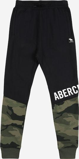Abercrombie & Fitch Hose in khaki / hellgrün / schwarz, Produktansicht