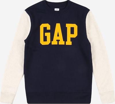GAP Sweatshirt in navy / gelb / weiß, Produktansicht